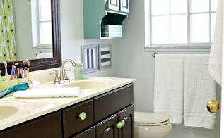 diy bathroom makeover, bathroom ideas, home decor, home improvement, painting, plumbing