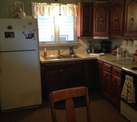... Q Working With Almond Colored Appliances, Appliances, Kitchen Cabinets,  Paint Colors
