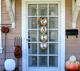 Fall Front Porches Rustic Outdoor Decorations, Diy, Halloween Decorations,  Home Decor, Porches