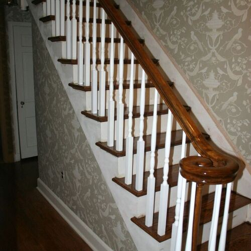 William S Woodworks Wood Stairs: Reconditioning Or Refinishing Wood Staircase