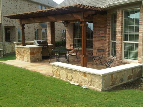 What Materials To Use For An Outdoor Kitchen Hometalk