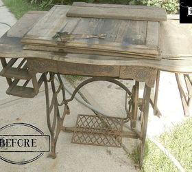 Repurposed Treadle Sewing Machine Dining Table, Diy, Repurposing Upcycling,  Rustic Furniture, Woodworking
