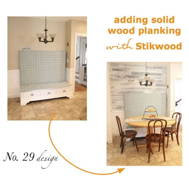 Installing Peel And Stick Wood Planking To Your Wall
