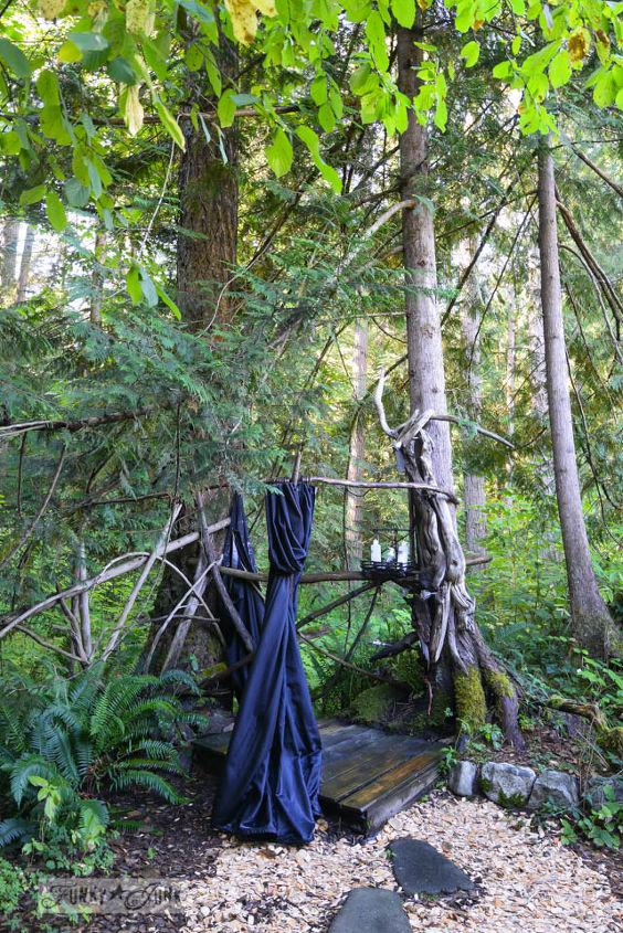 outdoor living rustic river cabin retreat, gardening, outdoor living