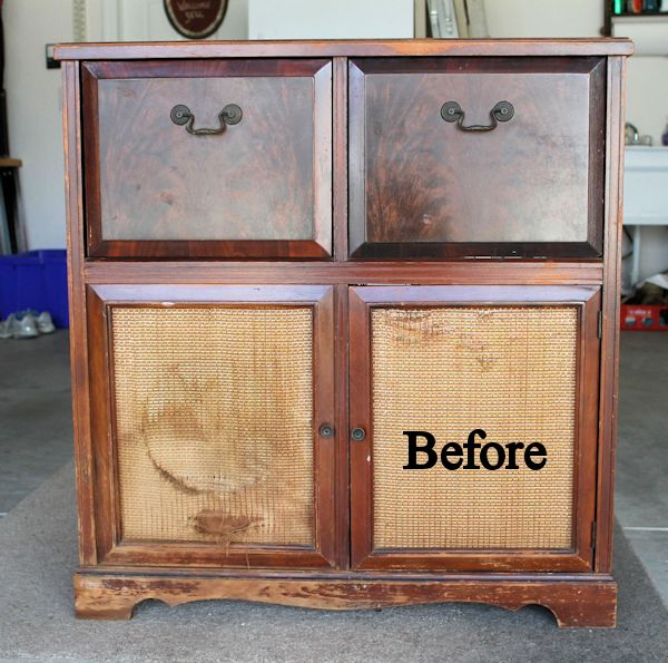 Restoring Antique Record Player Admiral Refinish Repurposing Upcycling Woodworking Projects
