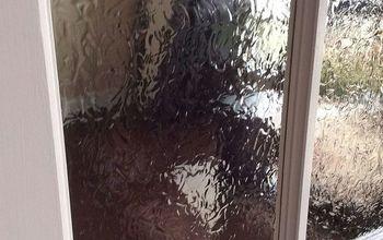 diy stained glass privacy doors windows, diy, doors, window treatments, windows