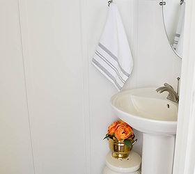 Bathroom Makeover Stenciled Walls Board And Batten, Bathroom Ideas, Diy,  Painting, Woodworking