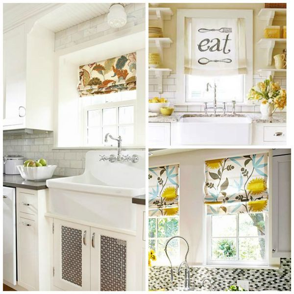 Kitchen Shades: Small Kitchen Window Treatments