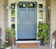non fall house tour summer backyard decor, doors, fireplaces mantels, home decor, outdoor living