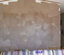 q brown paper floor wall help, diy, how to, repurposing upcycling, wall decor