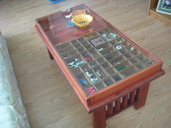 Shadow Box Coffee Table Hometalk