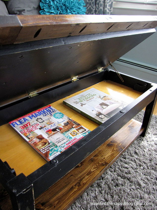Upcycle Piano Bench Coffee Table Living Room Ideas Painted Furniture Repurposing Upcycling