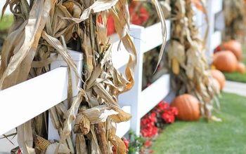outdoor fall decor ideas, seasonal holiday decor