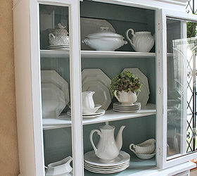 painted furniture china cabinet shabby chic home decor painted furniture