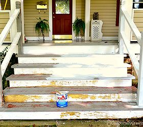how to build wood porch stairs how to build your front porch