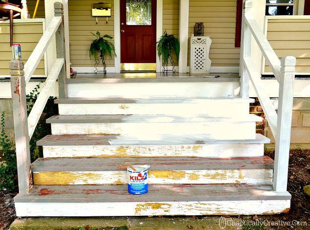 Painting Scraped Porch Floor