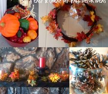 fall decorations frugal easy, halloween decorations, seasonal holiday decor, 4 Cheap and Easy Fall Crafts
