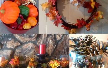 4 Frugal Fall Decorations - So Cheap and Easy!