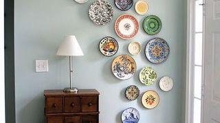 creating an eclectic wall plate arrangement, home decor, wall decor