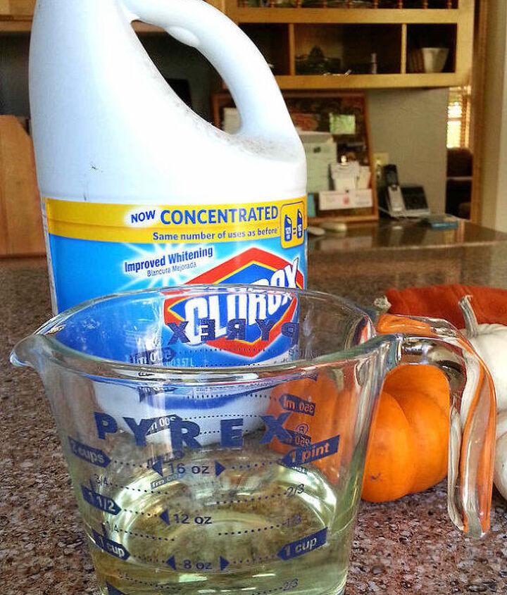 quick trick to make pumpkins last, seasonal holiday decor