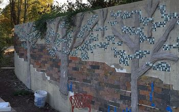 Mosaic Retaining Wall