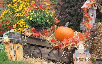 Fall Décor Inside and Outside