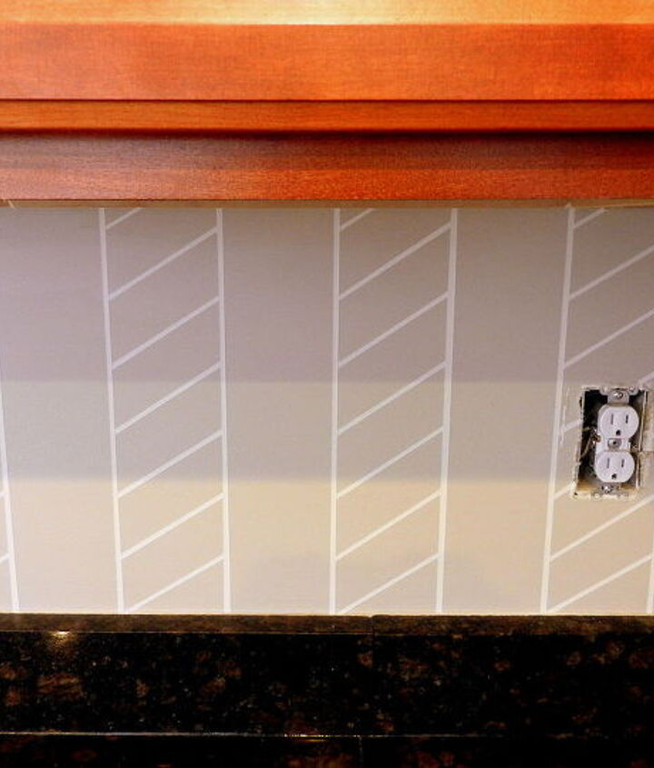 kitchen backsplash colorful painted, diy, kitchen backsplash, kitchen design