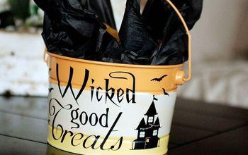Wicked Good Treats Pail