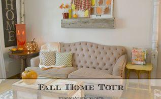home decor fall tour, home decor, seasonal holiday decor