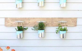 DIY Paint Can Herb Garden