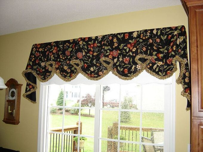 valances made easy, home decor, reupholster, window treatments
