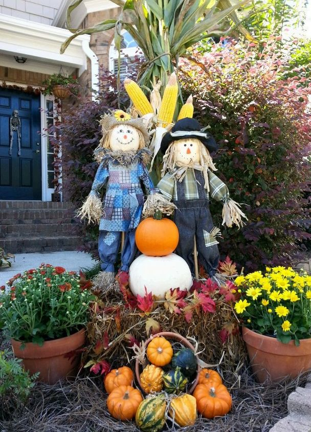 outdoor fall decor, seasonal holiday decor