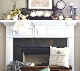 fireplace mantel decor fall front ideas fireplaces mantels home decor seasonal holiday decor & Decorate For Fall in Front of Your Fireplace | Hometalk