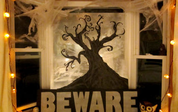 halloween decorations window display craft, crafts, halloween decorations, seasonal holiday decor