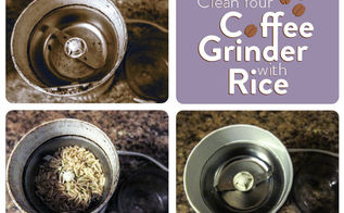 quick tip clean your coffee grinder with rice, appliances, cleaning tips