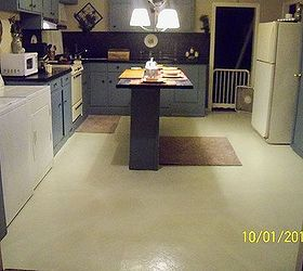 Flooring Painting Stenciling Linoleum, Diy, Flooring, Kitchen Design,  Painting