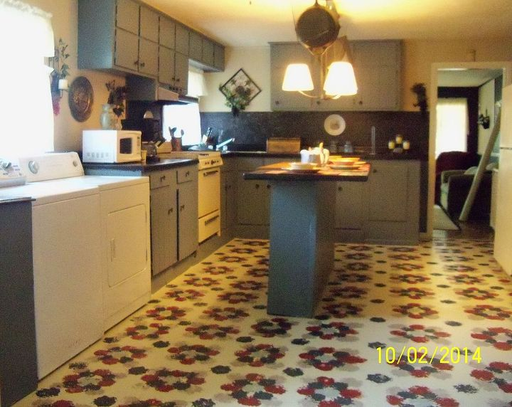 Diy Linoleum Kitchen Floor - Kitchen Ideas