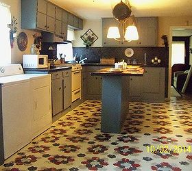 Diy Linoleum Kitchen Floor Ideas