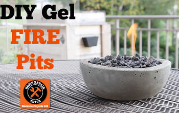 DIY Gel Fire Pits: Easy & Cheap Sizzle for Table Tops!