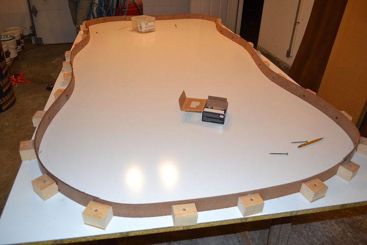Concrete Patio Table Masonry Diy Outdoor Furniture