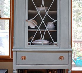 Duck Egg Blue China Cabinet, Kitchen Cabinets, Kitchen Design, Painted  Furniture