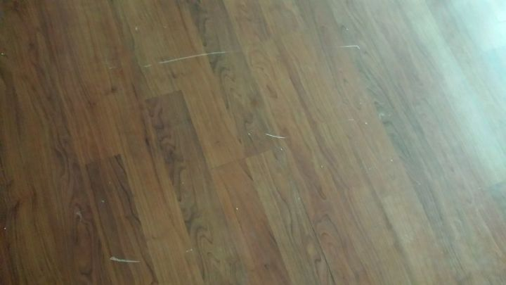 Q Any Tips For Fixing Scratches On A Laminate Floor Flooring Home Maintenance Repairs