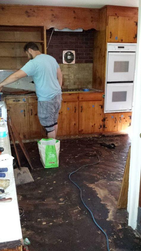 a diy kitchen makeover on a small budget, diy, home improvement, kitchen design