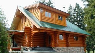 q i need pros and cons on metal roofing rather than shingles for my roof, home maintenance repairs, roofing, A vertical panel metal roof on a rustic log cabin