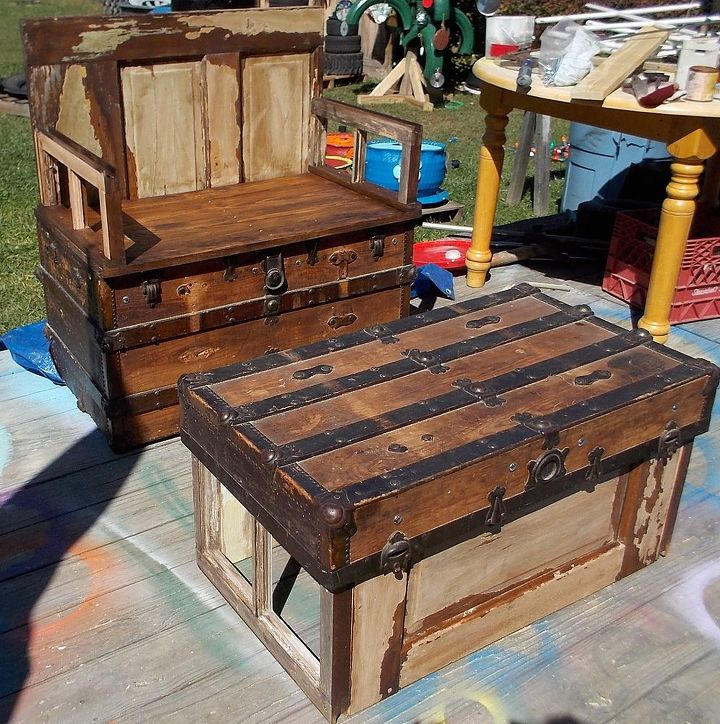 steamer trunk up cycle