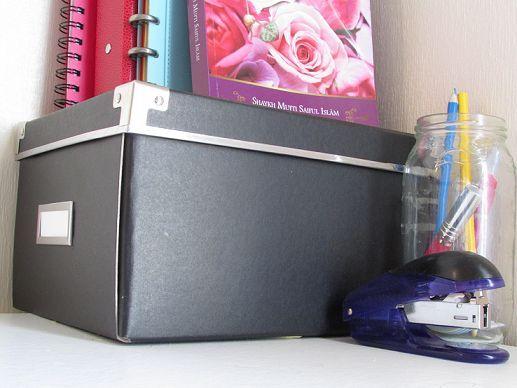ikea hack diy gold stripes storage box, crafts, repurposing upcycling, storage ideas