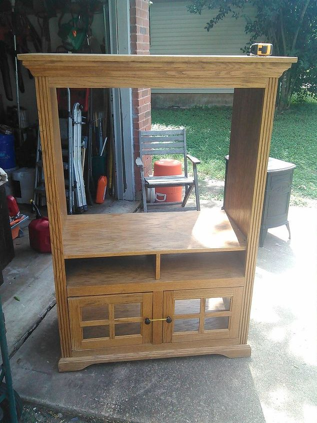 tv stand, painted furniture