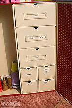 storage for american girl doll clothing, organizing, storage ideas