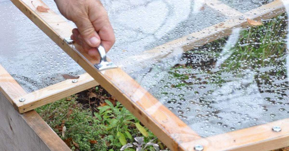 From Raised Bed to Cold Frame in Minutes | Hometalk