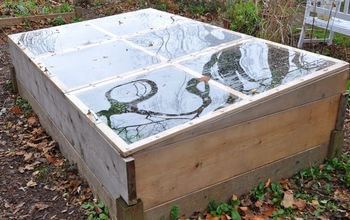FROM RAISED BED TO COLD FRAME IN MINUTES